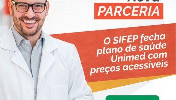 O SIFEP firma convênio que garante plano de saúde UNIMED com valores diferenciados